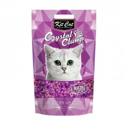 Asternut igienic KIT CAT CRYSTAL CLUMP Lavender Meadow - 4L