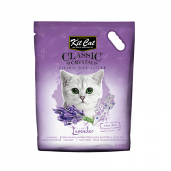 Asternut igienic  KIT CAT CLASSIC CRYSTAL LAVENDER- 5L