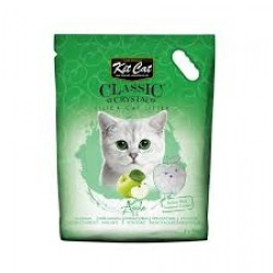 Asternut igienic  KIT CAT CLASSIC CRYSTAL APPLE- 5L