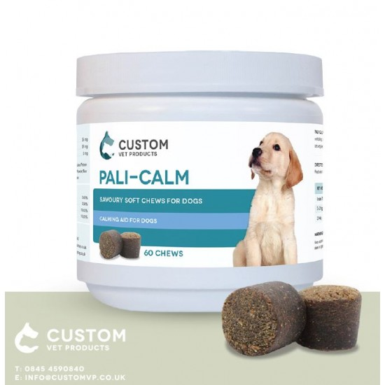 PALI CALM, Custom Vet, 60 tablete