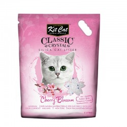 Asternut igienic  KIT CAT CLASSIC CRYSTAL CHERRY BLOSSOM- 5L