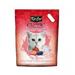 Asternut igienic  KIT CAT CLASSIC CRYSTAL MIX BERRIES- 5L