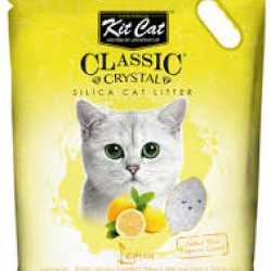 Asternut igienic  KIT CAT CLASSIC CRYSTAL LEMON- 5L