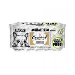 Servetele umede Absorb Plus Antibacterial, COCOS, 80 buc