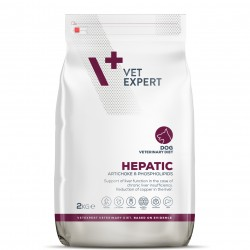 4T Dieta Veterinara, HEPATIC DOG, VetExpert, 2 kg