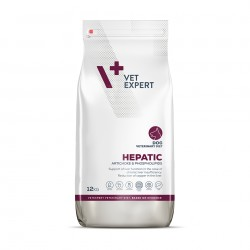 4T Dieta Veterinara HEPATIC DOG, VetExpert, 12 kg