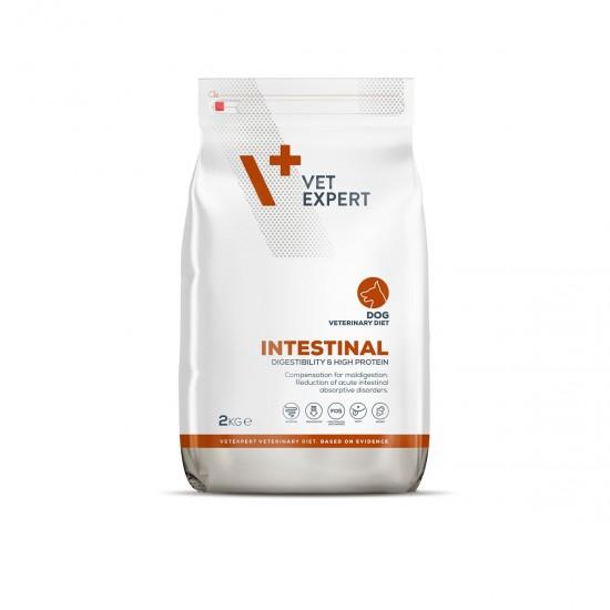 4T Dieta Veterinara INTESTINAL DOG, VetExpert,  2 Kg