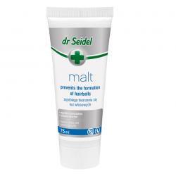 Supliment nutritiv pentru pisici, Dr. Seidel, Pasta Malt, 75 ml