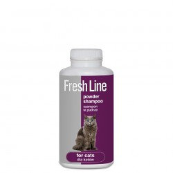 Sampon Pudra pentru pisici, Fresh LIne, 250 g