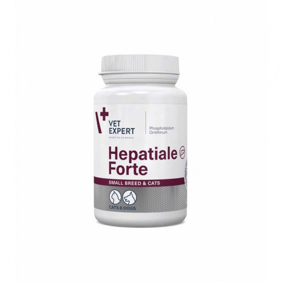 Hepatiale Small Breed Twist Off, VetExpert, 40 capsule