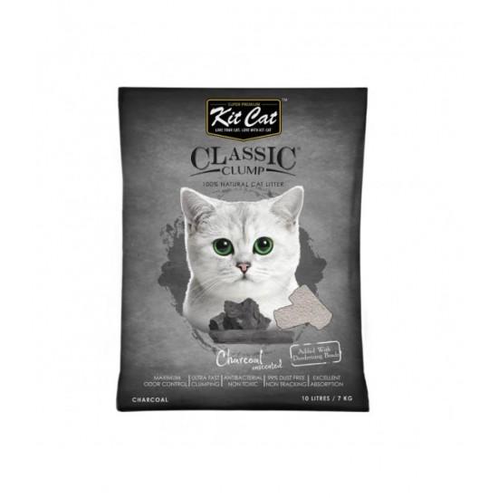 KIT CAT CLASSIC CRYSTAL CHARCOAL- 5L