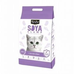 Asternut igienic pentru pisici KIT CAT SOYA CLUMP - Lavender- 7L