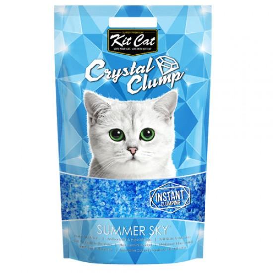 KIT CAT CRYSTAL CLUMP Summer Sky -4L