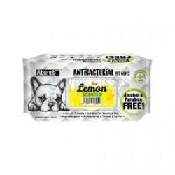 Servetele umede Absorb Plus Antibacterial, LEMON, 80 buc