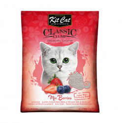 Asternut igienic  KIT CAT CLASSIC CLUMP MIX BERRY- 10L