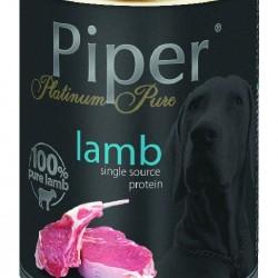 Hrana umeda Piper Platinum Pure, Miel, 400 g