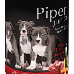 Hrana umeda Piper Junior, Inima de Vita si Morcovi, 400 g