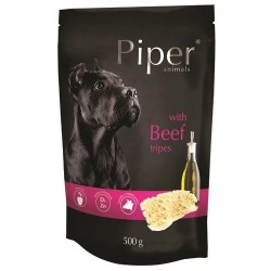 Hrana umeda Piper Animals, burta de vita, plic, 500 g