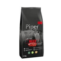 Hrana uscata pentru caini Piper, Adult, vita, 12 kg