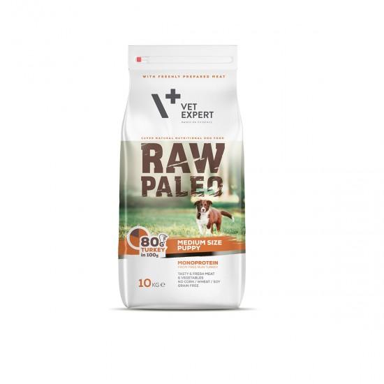 RAW PALEO, puppy, rase medii, 2.5 kg