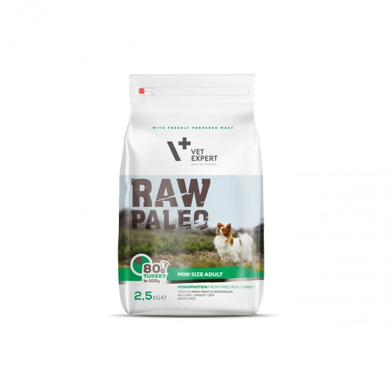 RAW PALEO, adult, rase mici, 750g