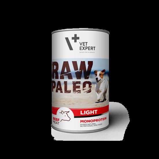 Hrana umeda pentru caini, RAW PALEO Adult, vita,conserva monoproteica,  500 g