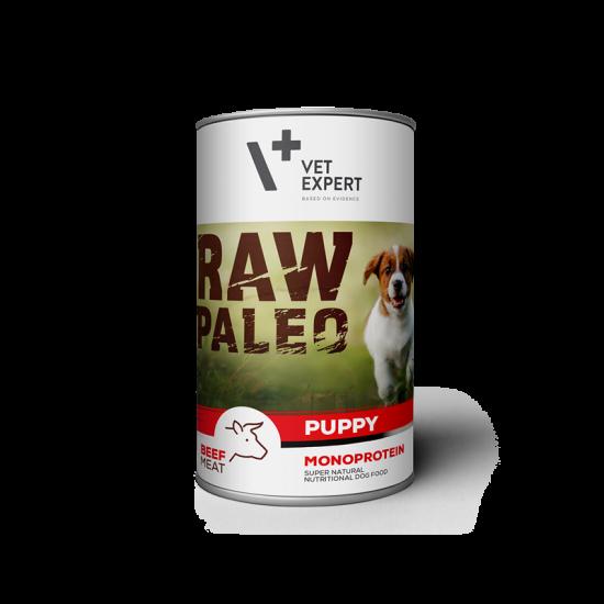 RAW PALEO Puppy, vita, 400 g