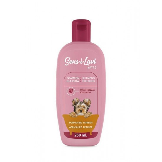 Sampon pentru caini Yorkshire Terrier, SENS-I-LAVI, 250 ml