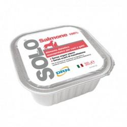 Hrana umeda pentru caini si pisici SOLO SOMON 100g