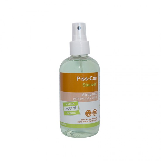 Spray educativ atractant pentru caini si pisici PISS CAN, Stangest, 250 ml