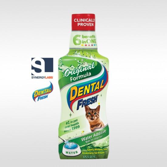 Dental Fresh ORIGINAL FORMULA pentru pisici, Synergy Labs, 237 ml