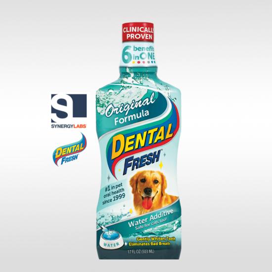 Dental Fresh ORIGINAL FORMULA pentru caini , Synergy Labs, 237 ml