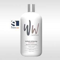 Sampon pentru blana alba Brilliant Whitening Woof Wash, Synergy Labs, 709 ml