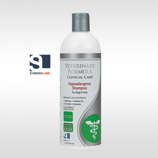 VFCC, Sampon Hipoalergenic, Synergy Labs, 473ml