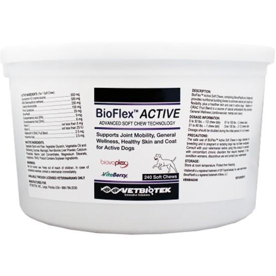 BIOFLEX active, VetBiotek, 240 tablete