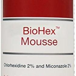 Spuma Clorhexidina 3%, VetBioTek BioHex, 200 ml