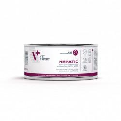 4T Dieta Veterinara pisici Hepatic CAT, VetExpert, conserva, 100g