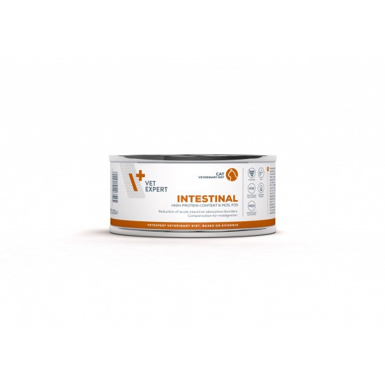 4T Dieta Veterinara pisici Intestinal Cat, VetExpert, conserva, 100g
