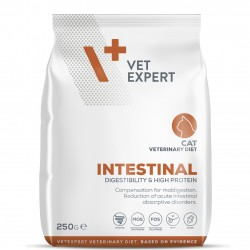 4T Dieta Veterinara INTESTINAL CAT, VetExpert, 250g