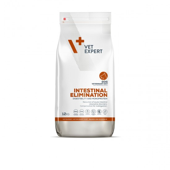 4T Dieta Veterinara INTESTINAL DOG, VetExpert,  12 Kg