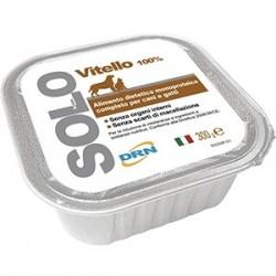 Hrana umeda pentru caini si pisici SOLO VITEL 300g