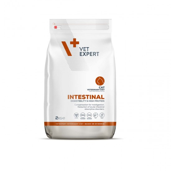 4T VETERINARY DIET INTESTINAL CAT 2Kg