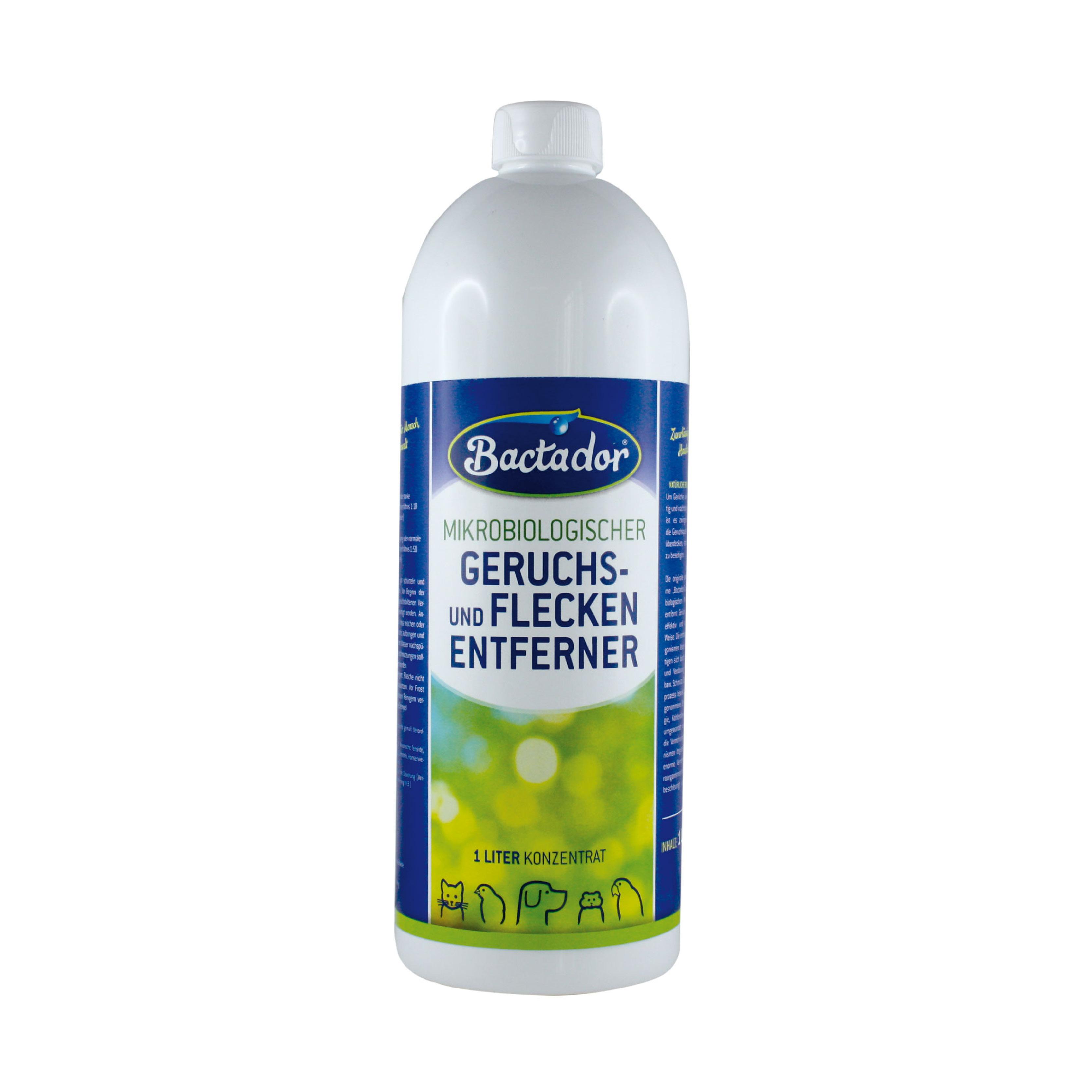 Bactador, Solutie Concentrata pentru eliminarea petelor si mirosurilor neplacute, 1 L 4pet.ro
