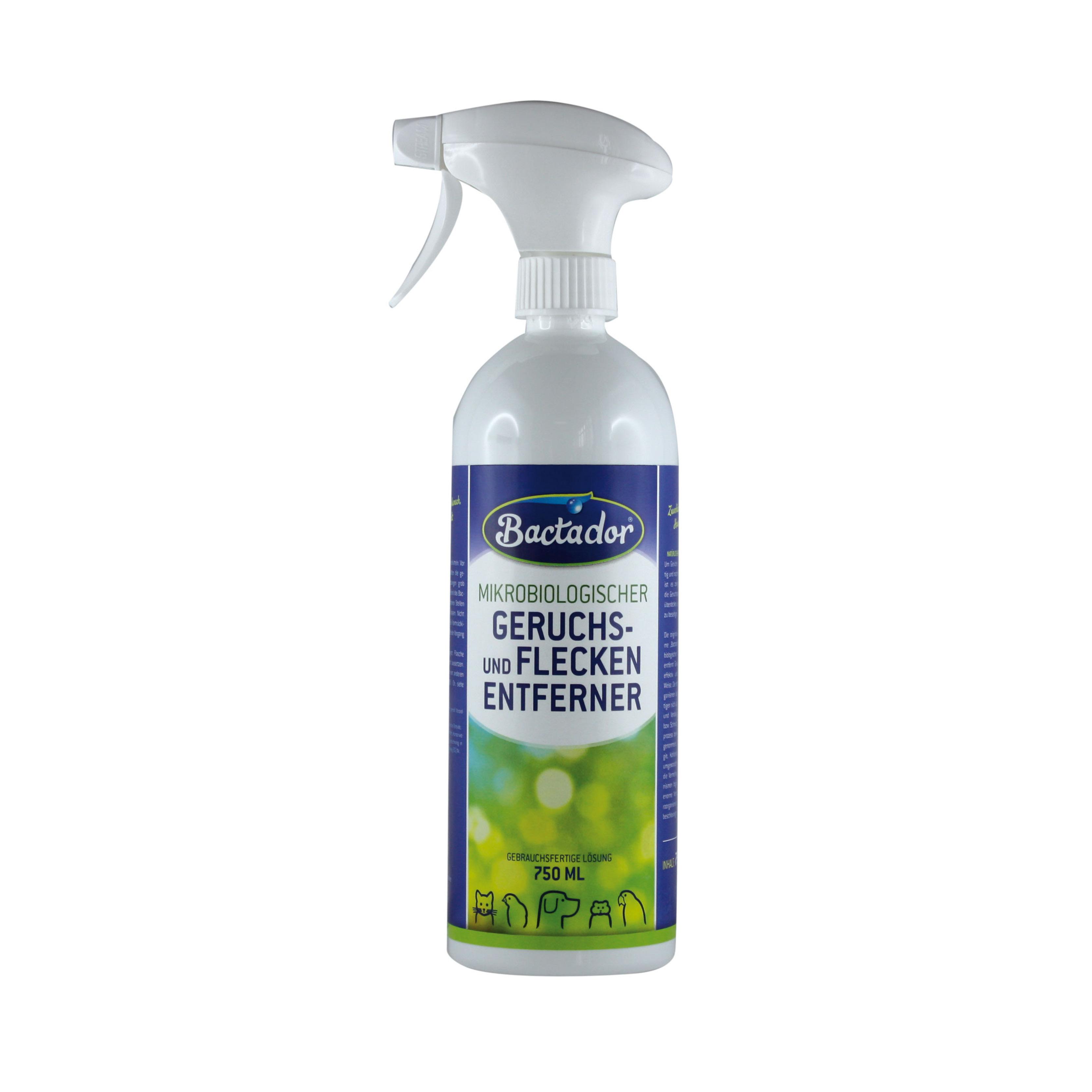 Imagine  Bactador Spray Pentru Eliminarea Petelor Si Mirosurilor Neplacute
