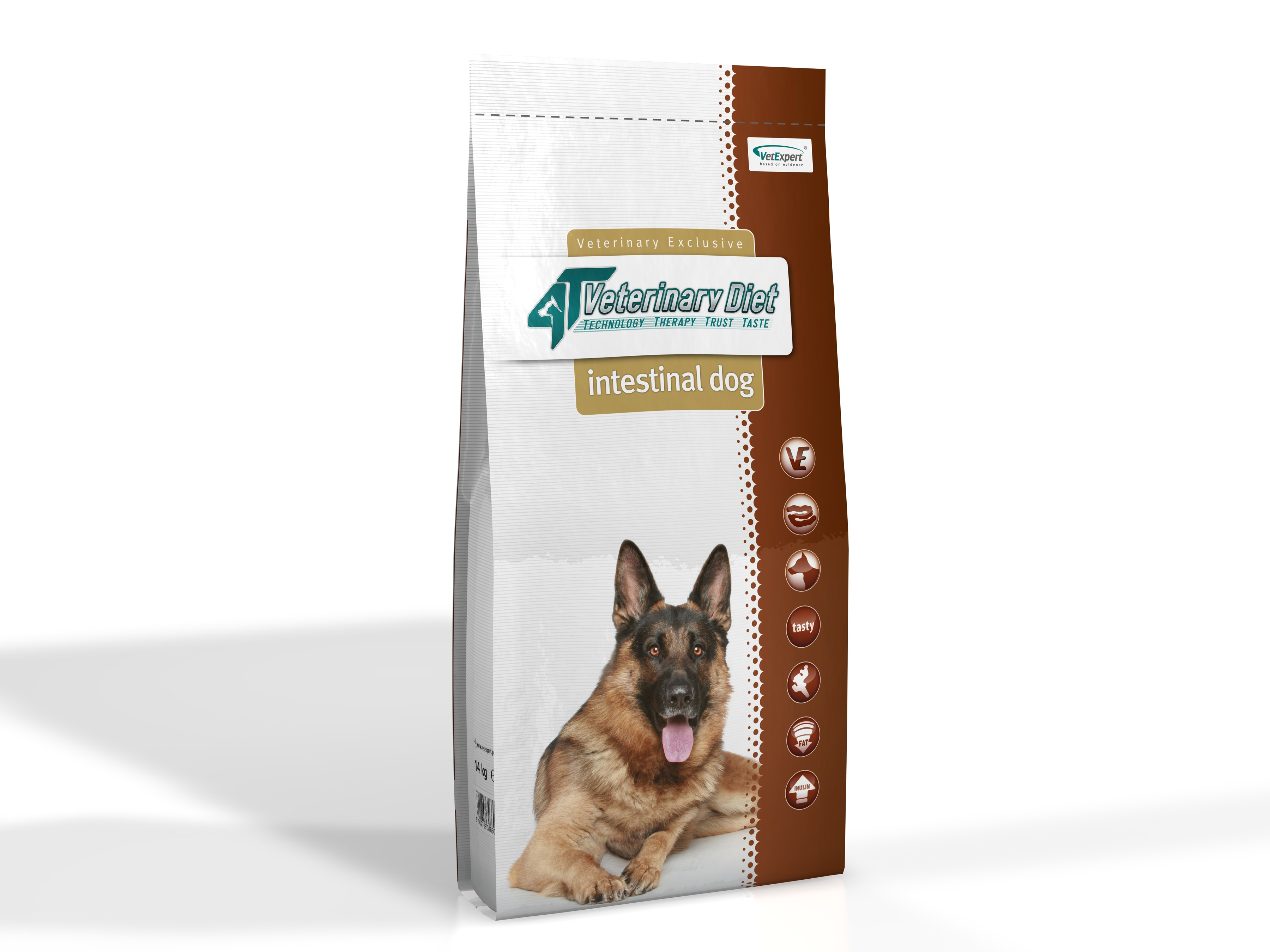 4T Dieta Veterinara INTESTINAL DOG, VetExpert 14 Kg imagine