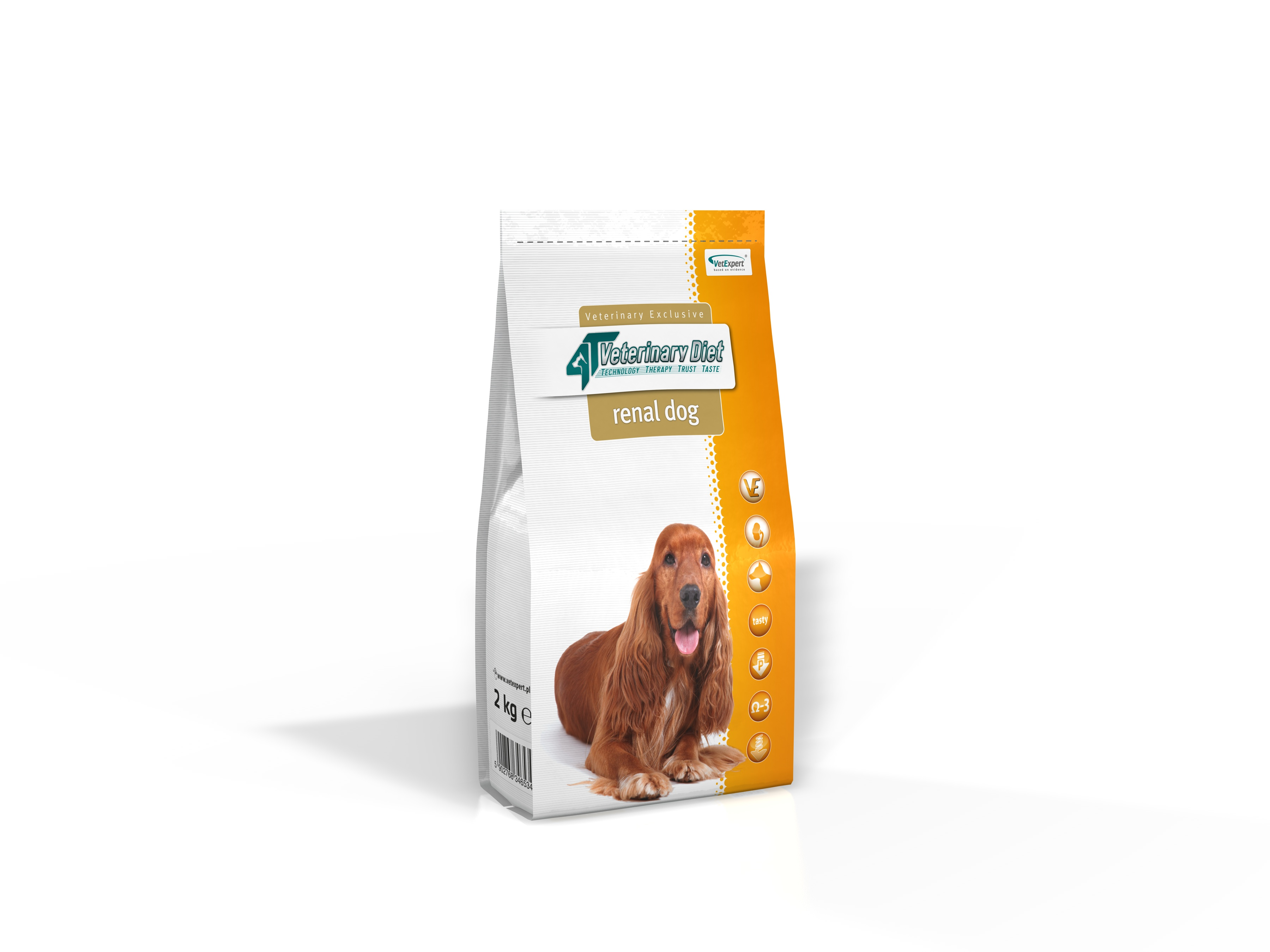 4T Dieta Veterinara RENAL DOG, VetExpert, 14 Kg imagine