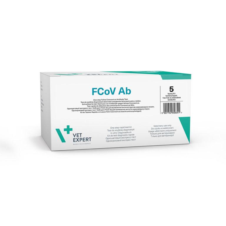 Kit testare FCoV Ab 2 Teste 4pet.ro