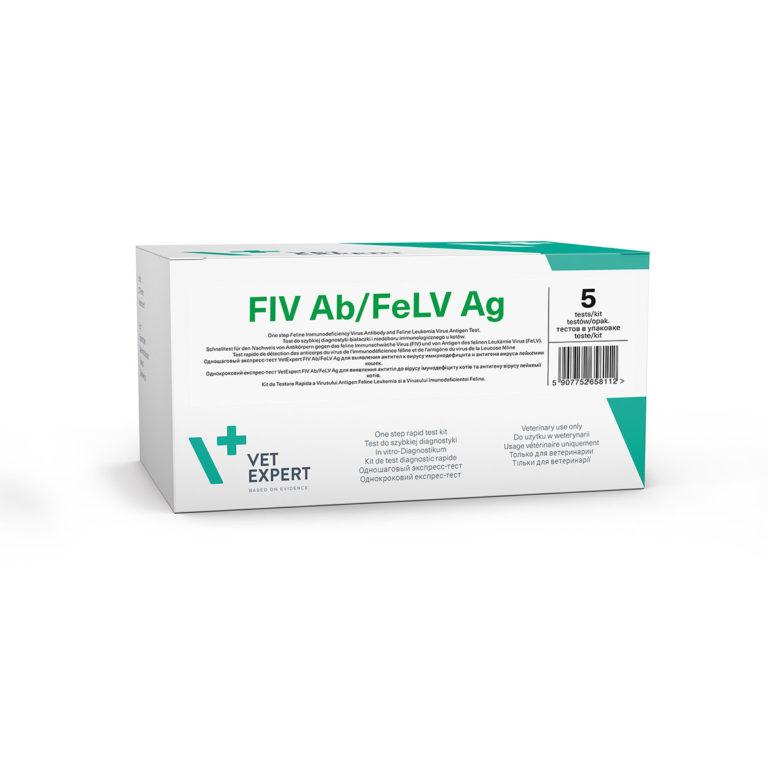 Kit testare FIV Ab/FeLV Ag 2 Teste imagine