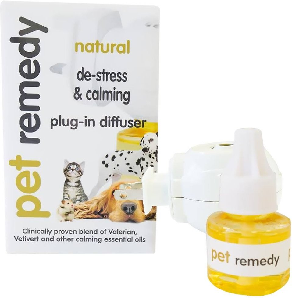 PET REMEDY, 2 x 40 ml PLUG IN DIFFUSER REFILL, VetExpert imagine