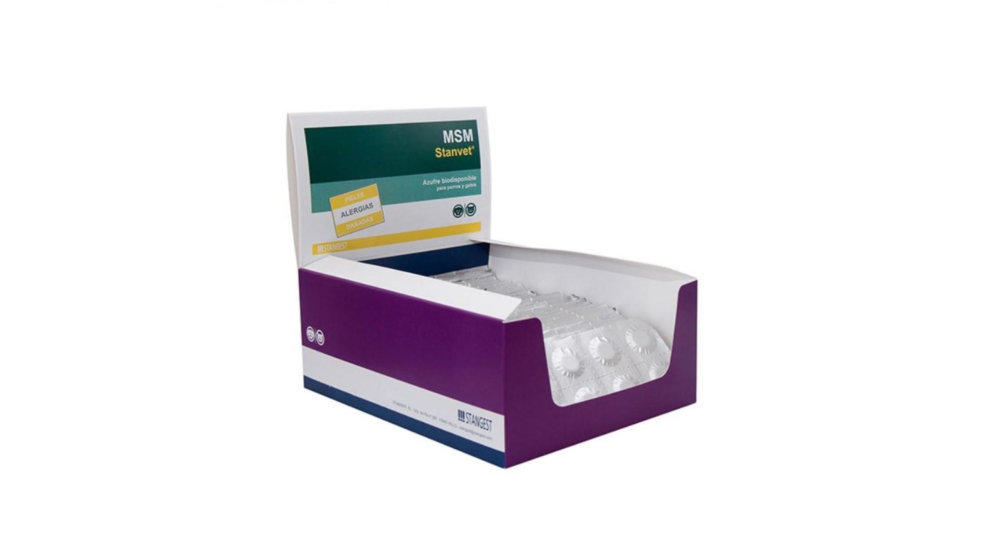 MSM - blister 10 tablete 4pet.ro